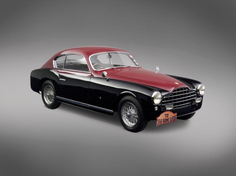 1950 Ferrari 195 Inter retro      d wallpaper