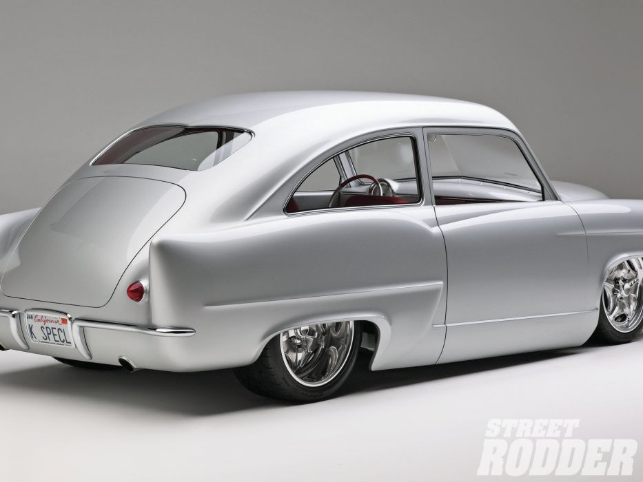1951 Kaiser Henry J-Super retro custom hot rod rods lowrider lowriders     f wallpaper