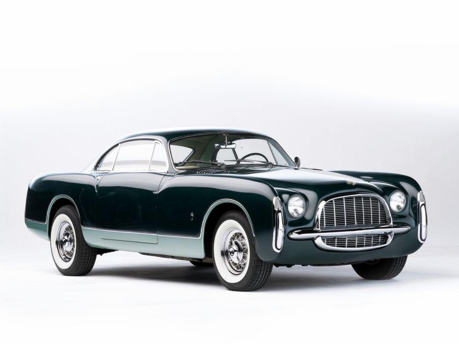 1952 Chrysler Thomas Special SWB Concept retro luxury wallpaper