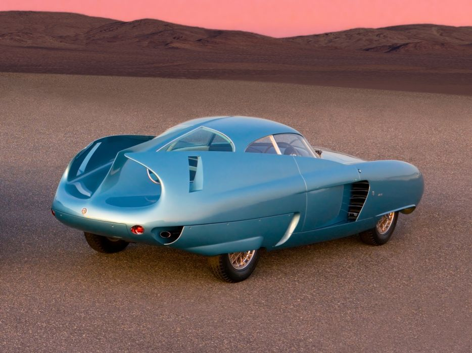 1954 Alfa Romeo BAT 7 retro concept wallpaper