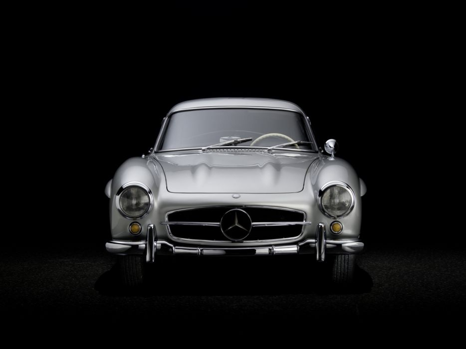 1954 Mercedes Benz 300-SL W198 300 tetro supercar supercars gullwing        g wallpaper
