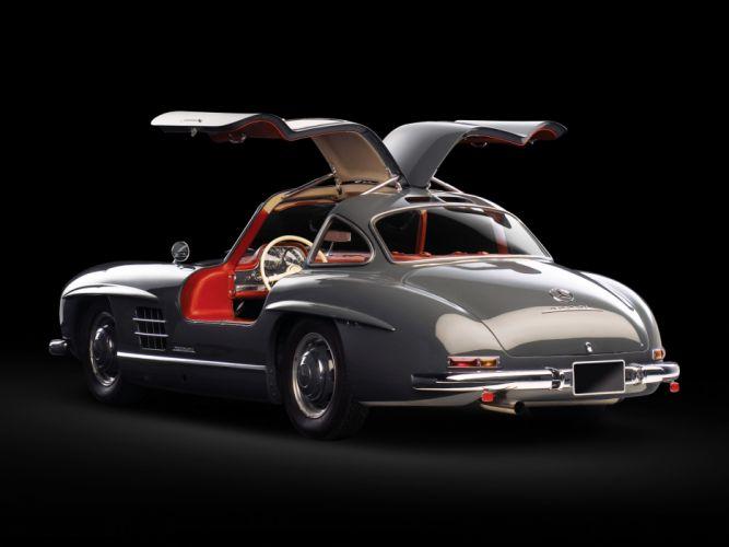 1954 Mercedes Benz 300-SL W198 300 tetro supercar supercars gullwing gg wallpaper