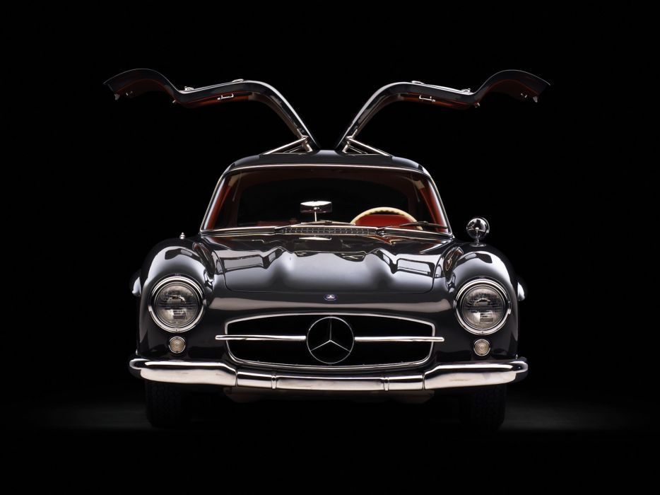 1954 Mercedes Benz 300-SL W198 300 tetro supercar supercars gullwing    h wallpaper