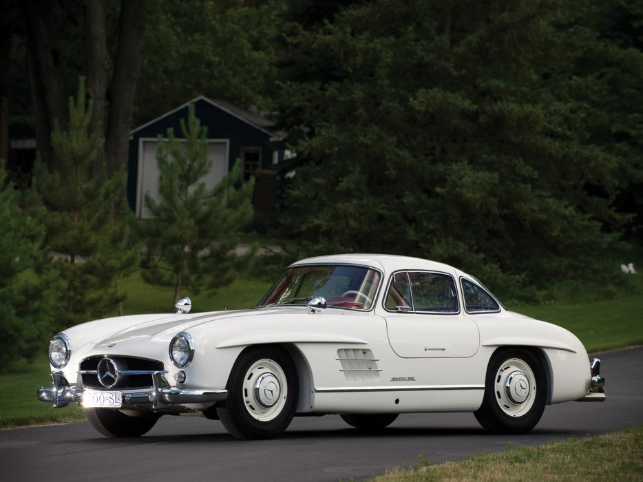 1954 Mercedes Benz 300-SL W198 300 tetro supercar supercars gullwing    s wallpaper