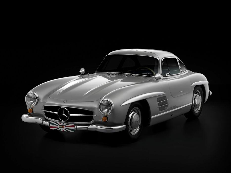 1954 Mercedes Benz 300-SL W198 300 tetro supercar supercars gullwing   s wallpaper