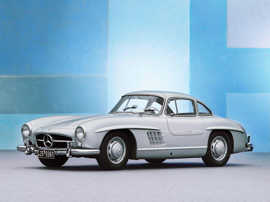 1954 Mercedes Benz 300-SL W198 300 tetro supercar supercars gullwing   r wallpaper