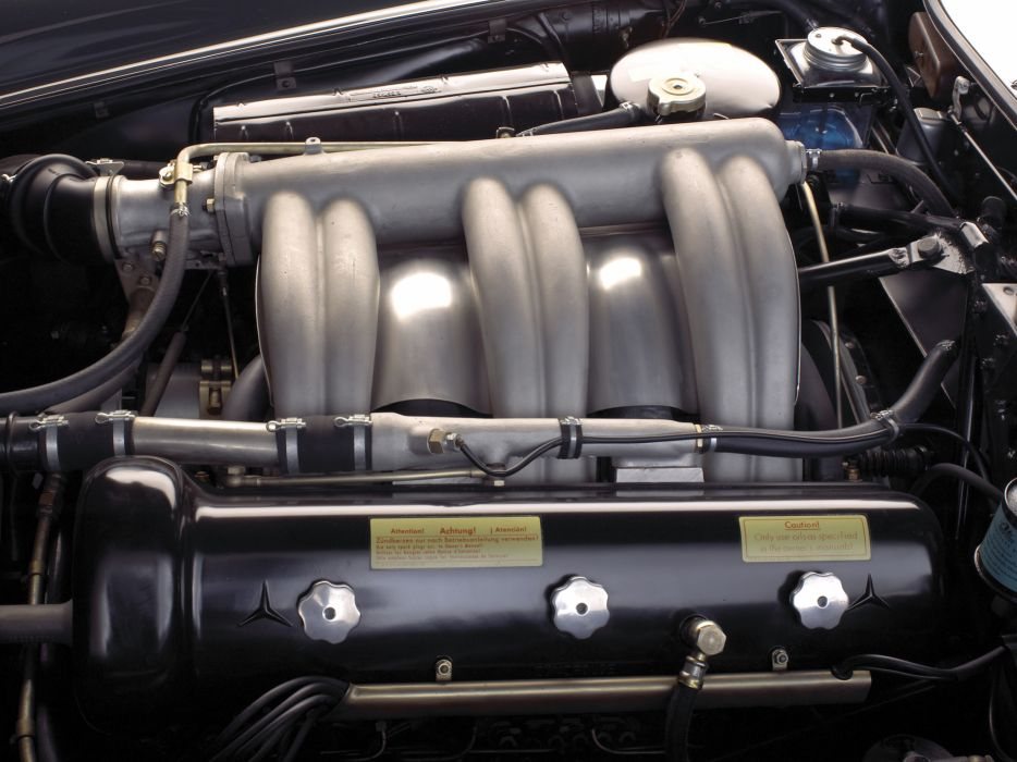 1954 Mercedes Benz 300-SL W198 300 tetro supercar supercars gullwing engine engines   n wallpaper