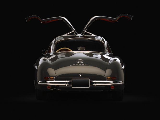 1954 Mercedes Benz 300-SL W198 300 tetro supercar supercars gullwing m wallpaper