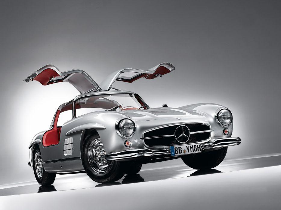 1954 Mercedes Benz 300-SL W198 300 tetro supercar supercars gullwing q wallpaper