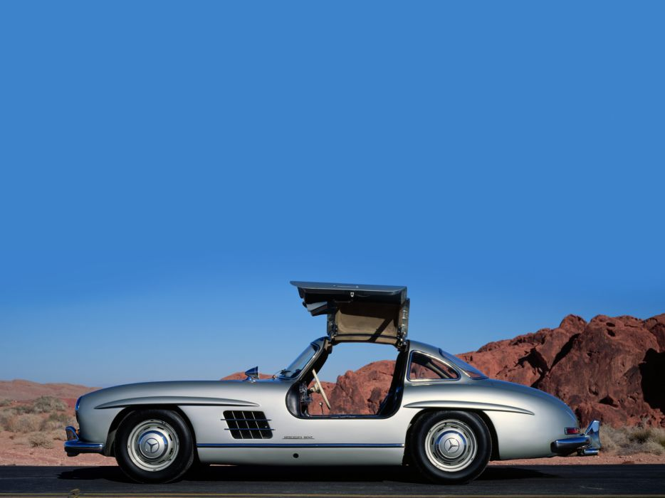 1954 Mercedes Benz 300-SL W198 300 tetro supercar supercars gullwing y wallpaper