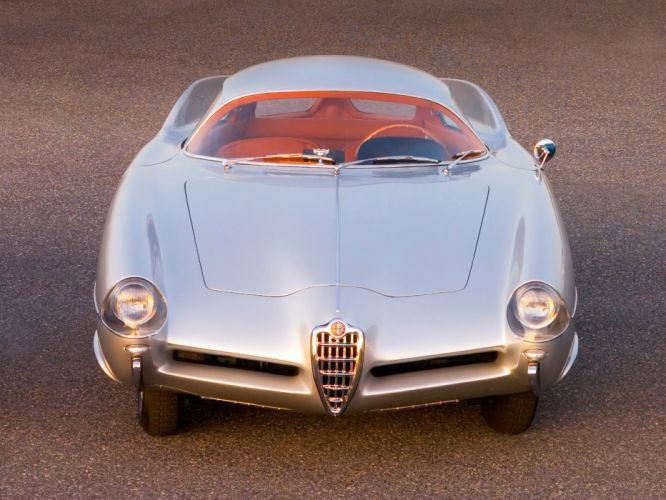 1955 Alfa Romeo BAT 9 Concept retro wallpaper