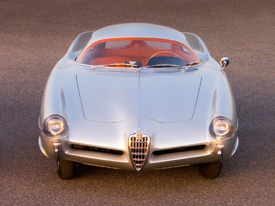 1955 Alfa Romeo BAT 9 Concept retro wallpaper