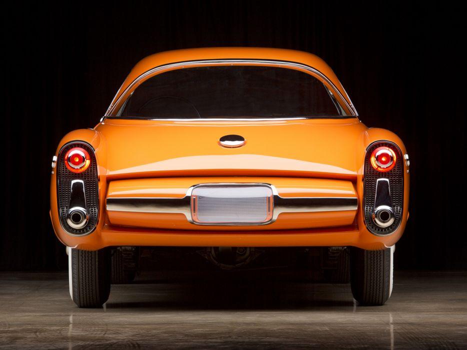 1955 Lincoln Indianapolis Concept retro     f wallpaper