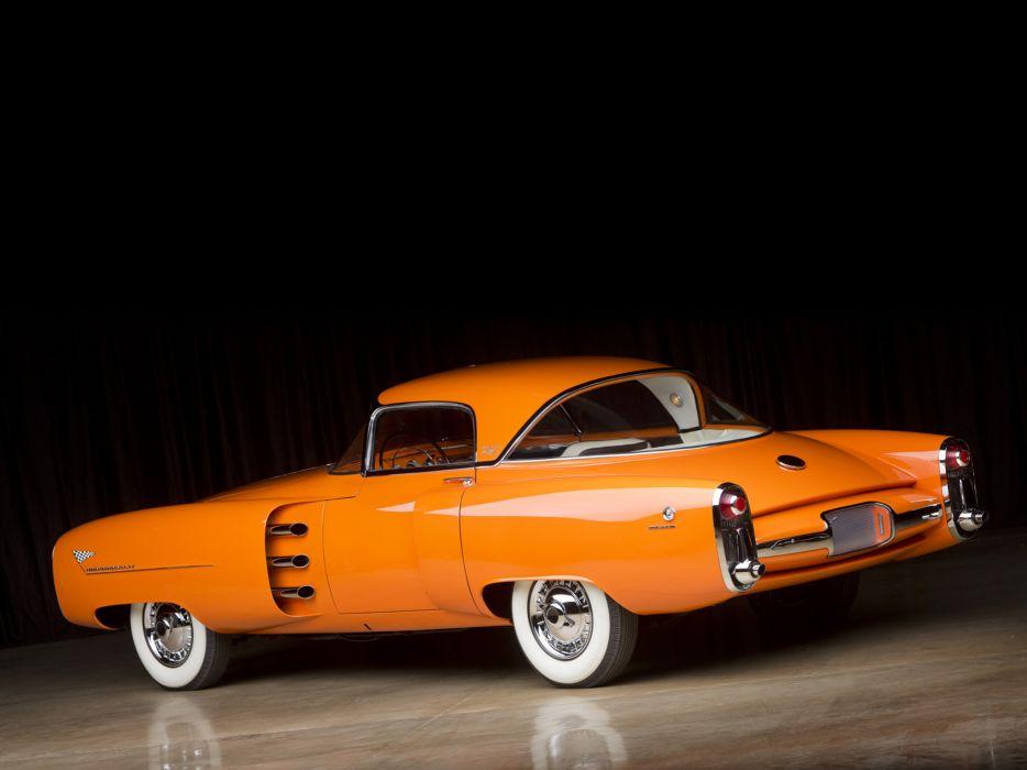 1955 Lincoln Indianapolis Concept retro  g wallpaper