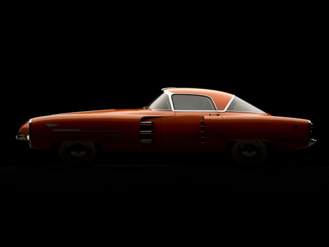 1955 Lincoln Indianapolis Concept retro d wallpaper