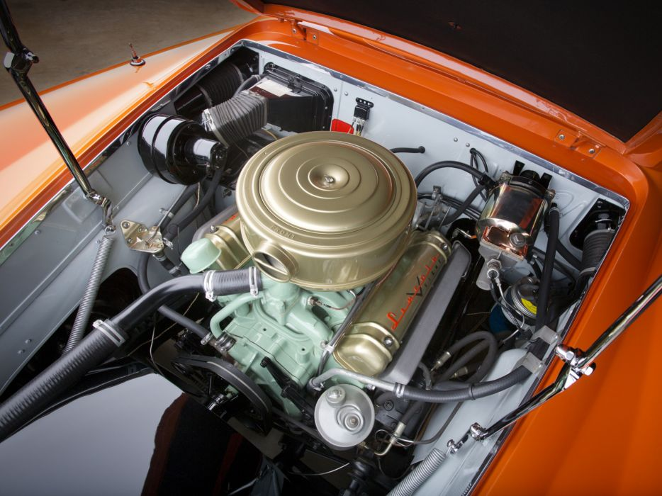 1955 Lincoln Indianapolis Concept retro engine engines wallpaper