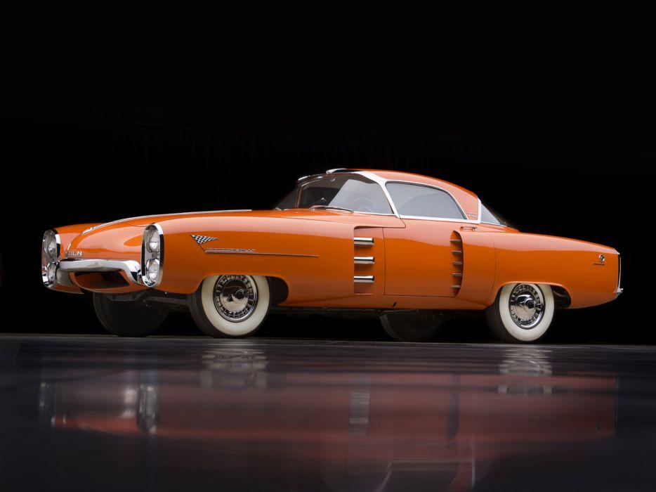 1955 Lincoln Indianapolis Concept retro wallpaper