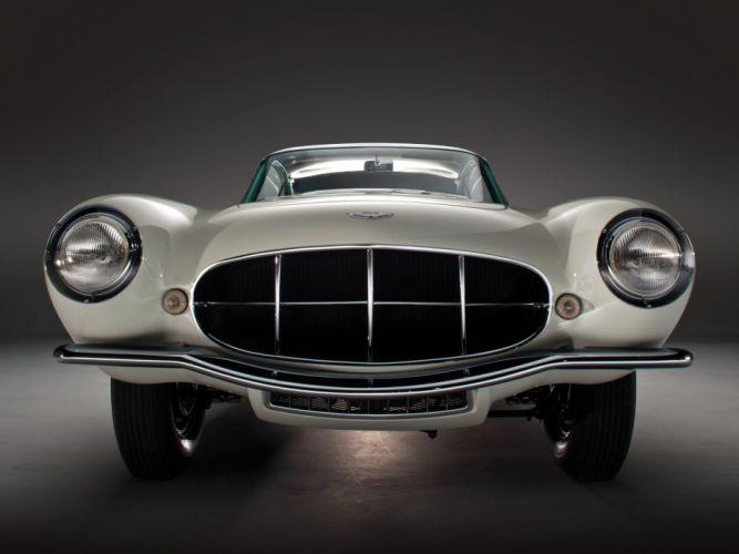 1956 Aston Martin DB2-4 Supersonic Coupe MkII retro s wallpaper