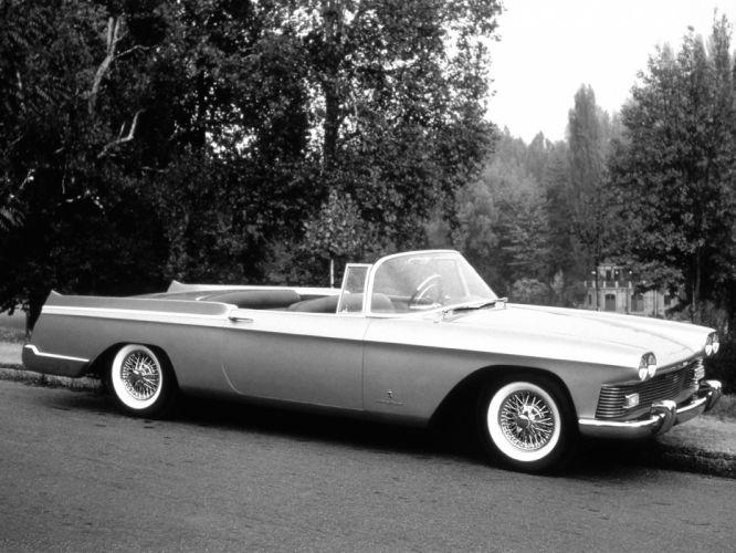 1958 Cadillac Skylight Convertible retro concept wallpaper