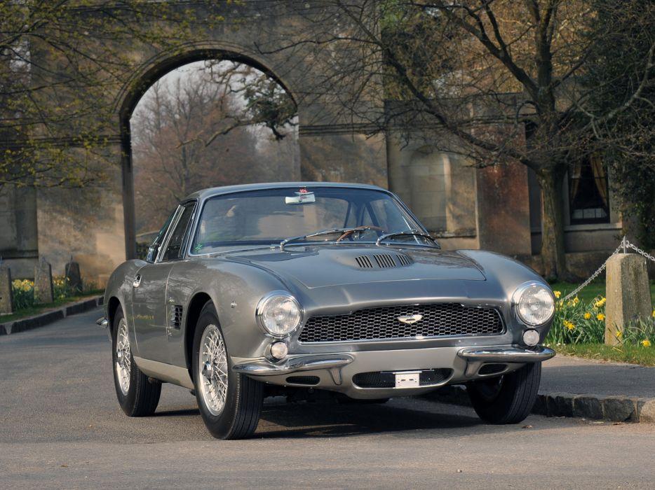 1961 Aston Martin DB4 G-T Bertone Jet retro supercar supercars concept    h wallpaper