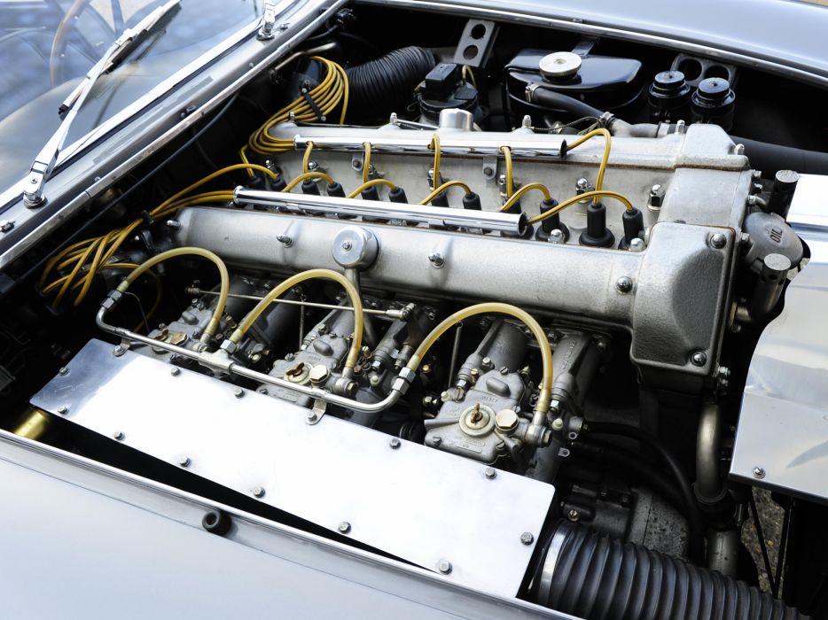 1961 Aston Martin DB4 G-T Bertone Jet retro supercar supercars concept engine engines  d wallpaper