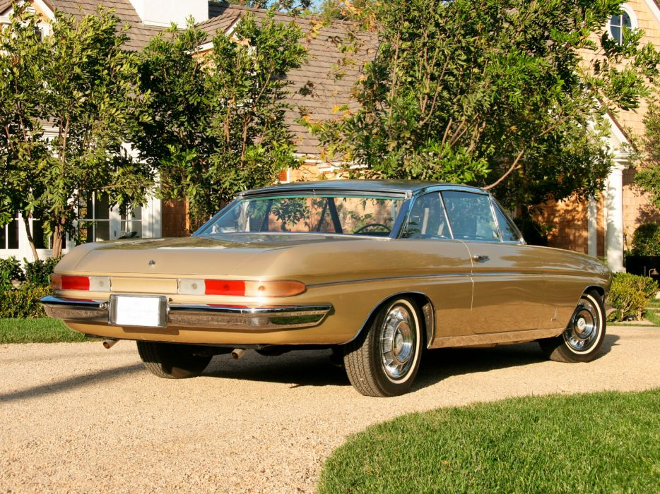 1961 Cadillac Jacqueline Brougham Coupe Concept classic luxury q wallpaper