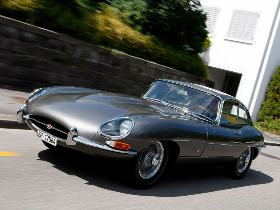 1961 Jaguar E-Type Fixed Head Coupe classic supercar supercars      j wallpaper