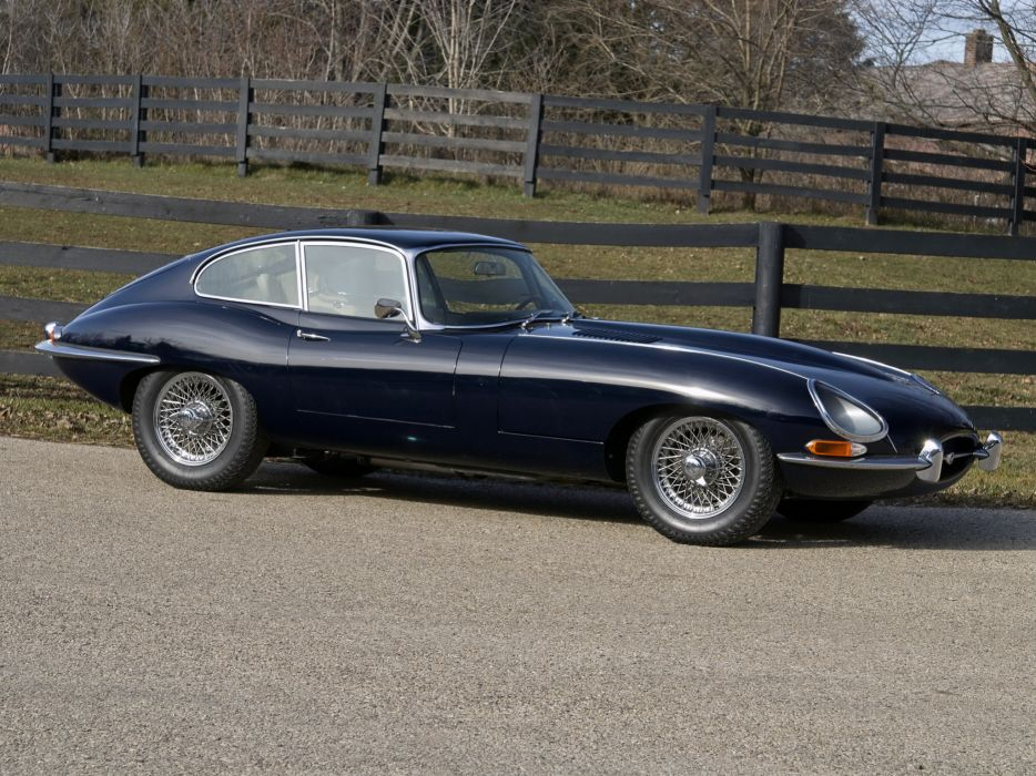 1961 Jaguar E-Type Fixed Head Coupe classic supercar supercars      f wallpaper