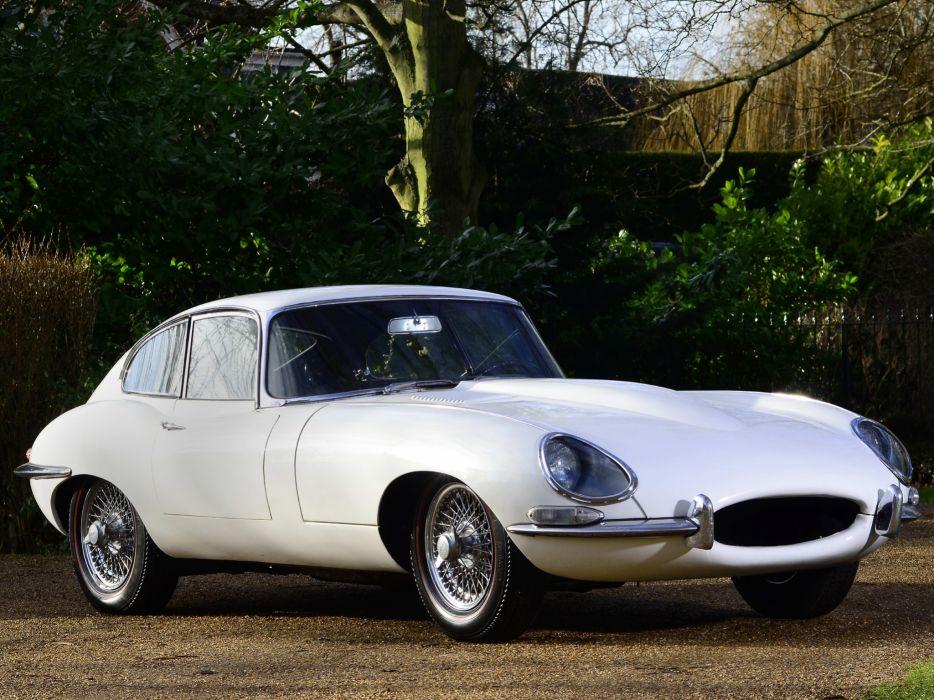 1961 Jaguar E-Type Fixed Head Coupe classic supercar supercars      fd wallpaper