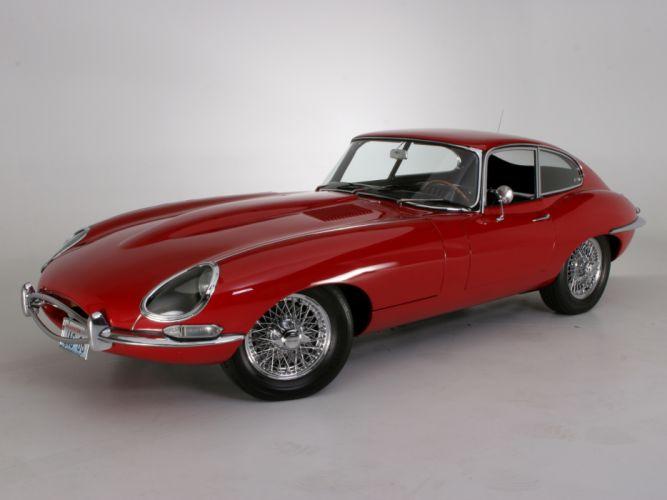 1961 Jaguar E-Type Fixed Head Coupe classic supercar supercars f wallpaper