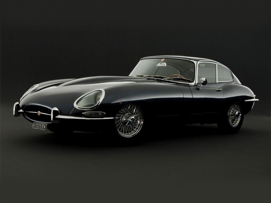 1961 Jaguar E-Type Fixed Head Coupe classic supercar supercars    gd wallpaper