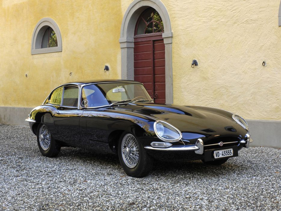 1961 Jaguar E-Type Fixed Head Coupe classic supercar supercars e wallpaper
