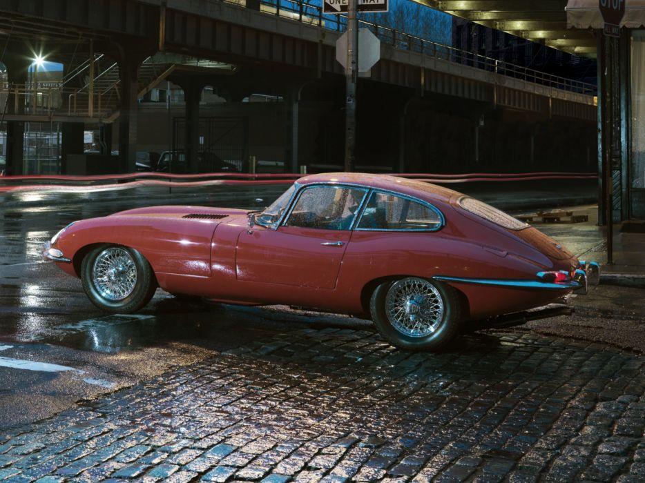 1961 Jaguar E-Type Fixed Head Coupe classic supercar supercars wallpaper