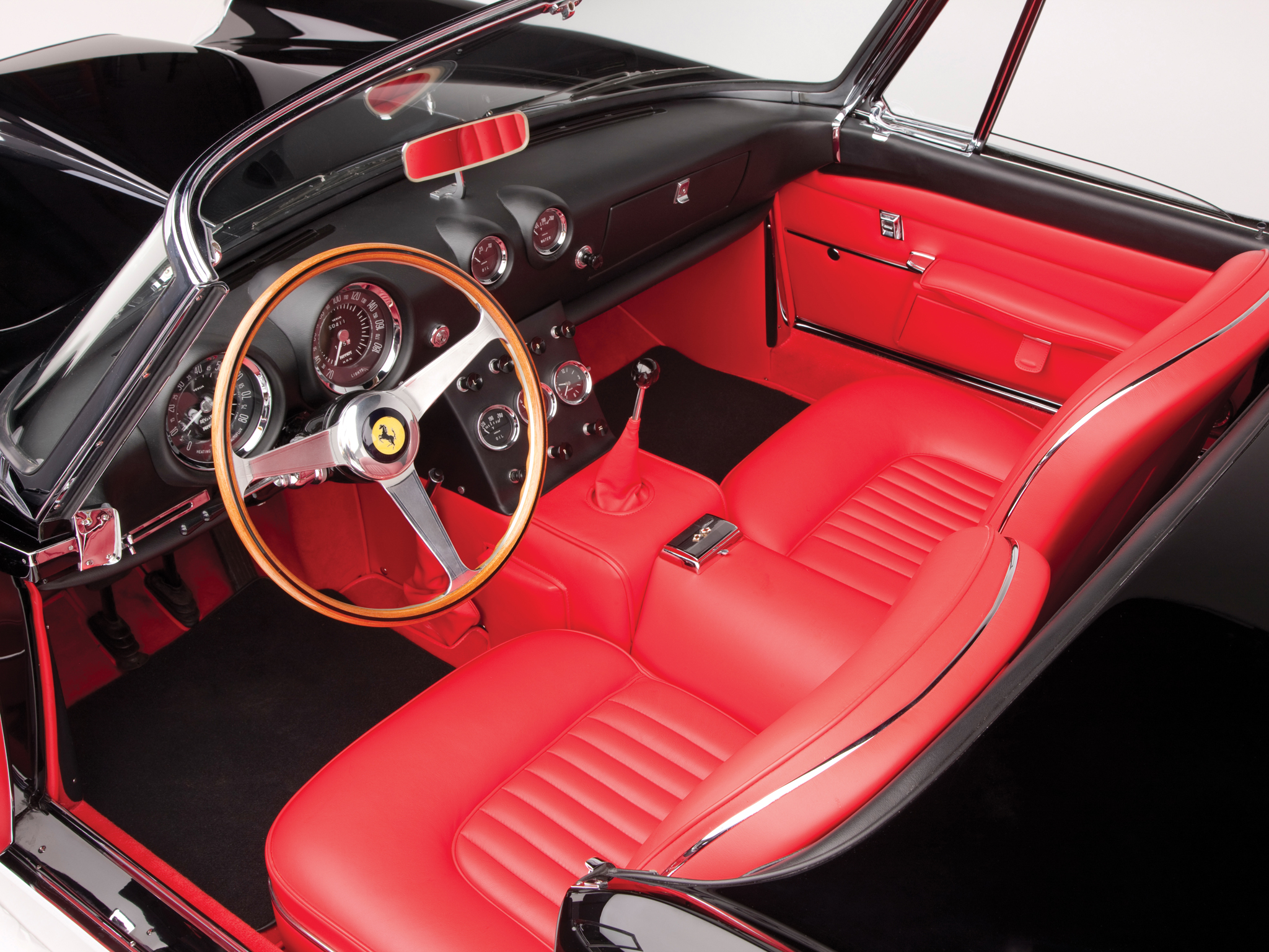 1962 ferrari 400 superamerica cabriolet tipo 538 classic supercar supercars interior wallpaper. Black Bedroom Furniture Sets. Home Design Ideas