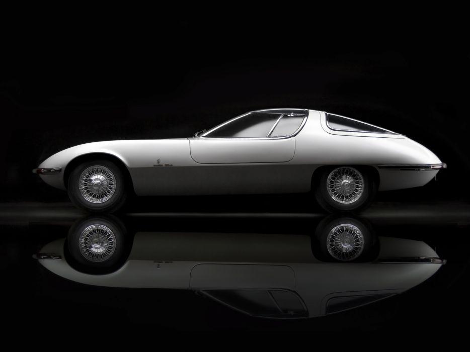 1963 Chevrolet Corvair Testudo concept supercar supercars       f wallpaper