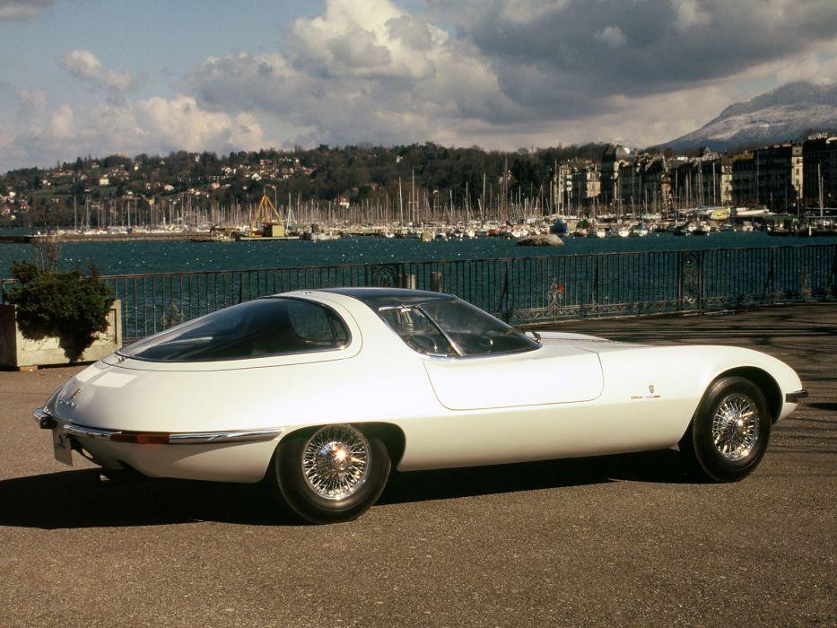 1963 Chevrolet Corvair Testudo concept supercar supercars     fd wallpaper