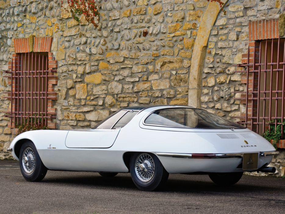 1963 Chevrolet Corvair Testudo concept supercar supercars v wallpaper