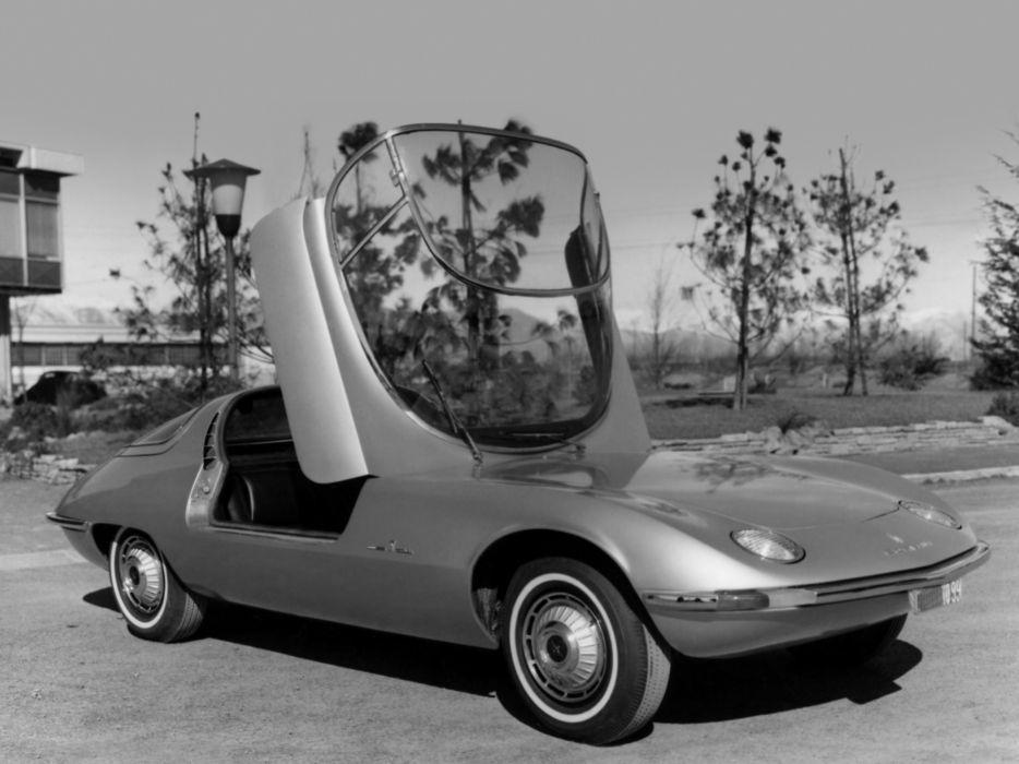 1963 Chevrolet Corvair Testudo concept supercar supercars b-w wallpaper