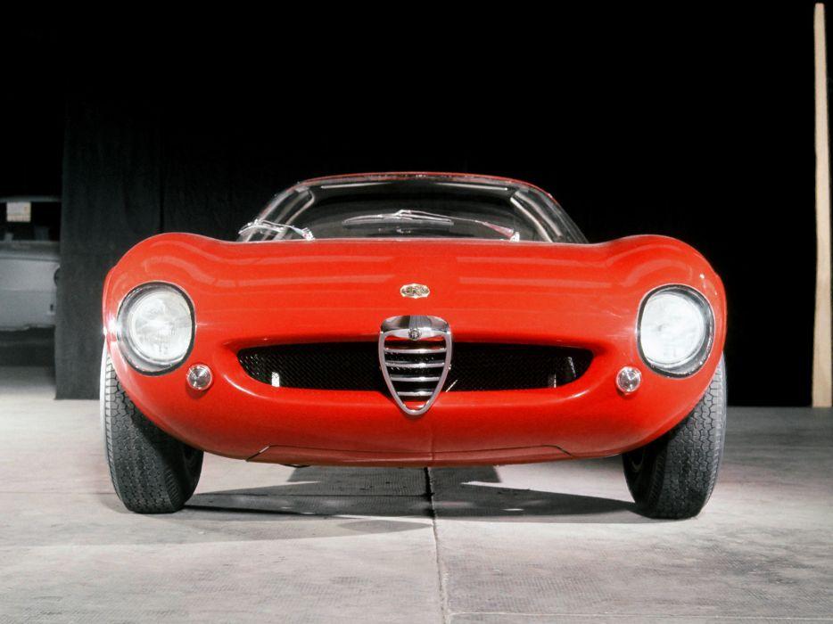 1964 Alfa Romeo Giulia 1600 Canguro classic supercar supercars f wallpaper