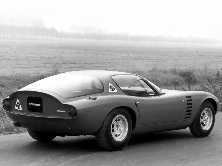 1964 Alfa Romeo Giulia 1600 Canguro classic supercar supercars wallpaper