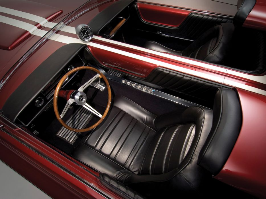 1964 Dodge Charger Roadster Concept classic hot rod rods muscle interior wallpaper