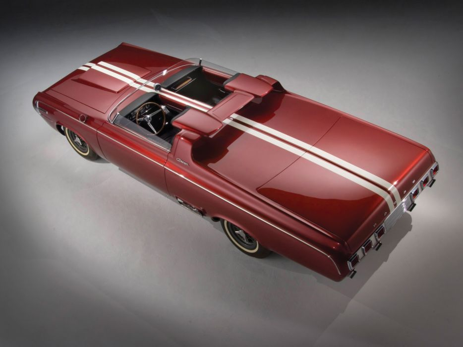 1964 Dodge Charger Roadster Concept classic hot rod rods muscle  b wallpaper