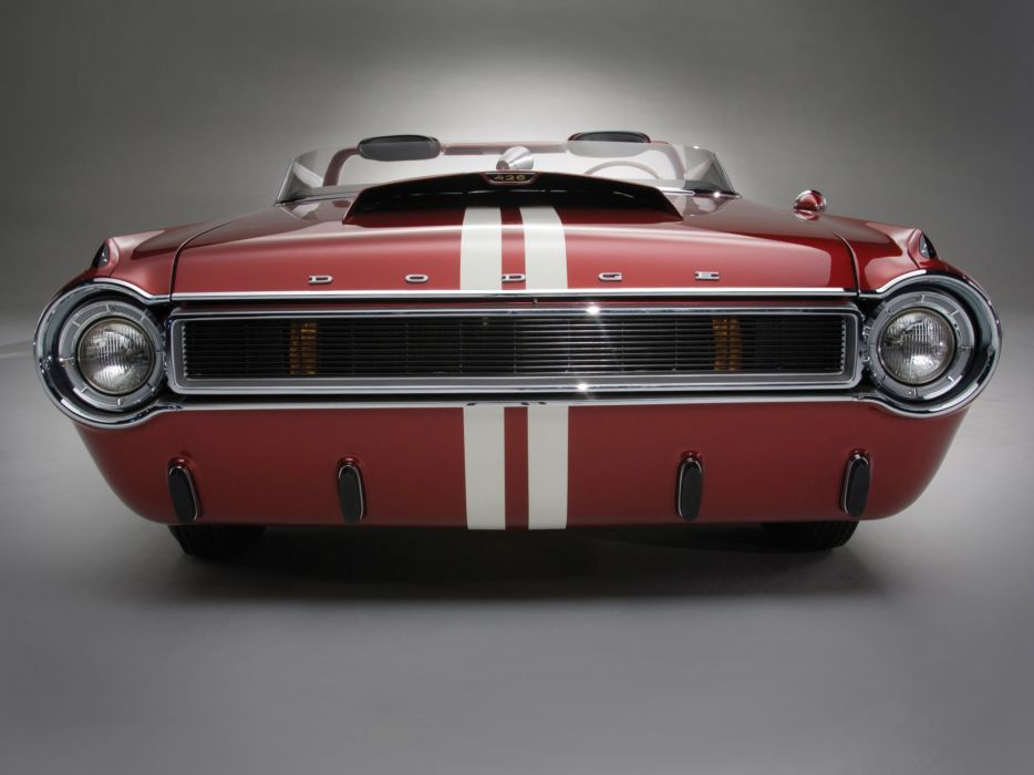 1964 Dodge Charger Roadster Concept classic hot rod rods muscle r wallpaper