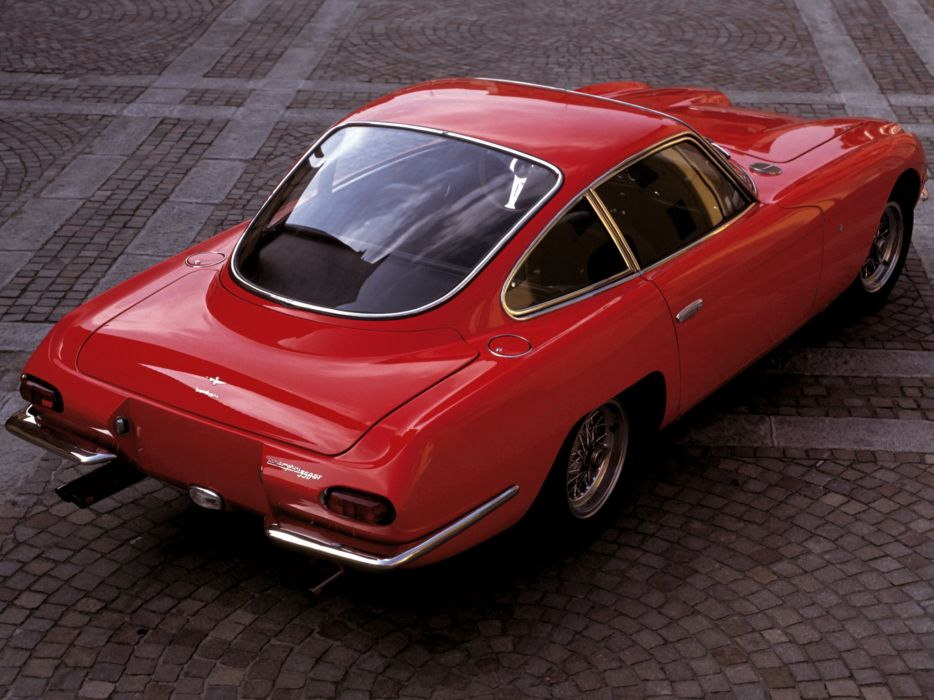 1964 Lamborghini 350 G-T classic supercar supercars     f wallpaper