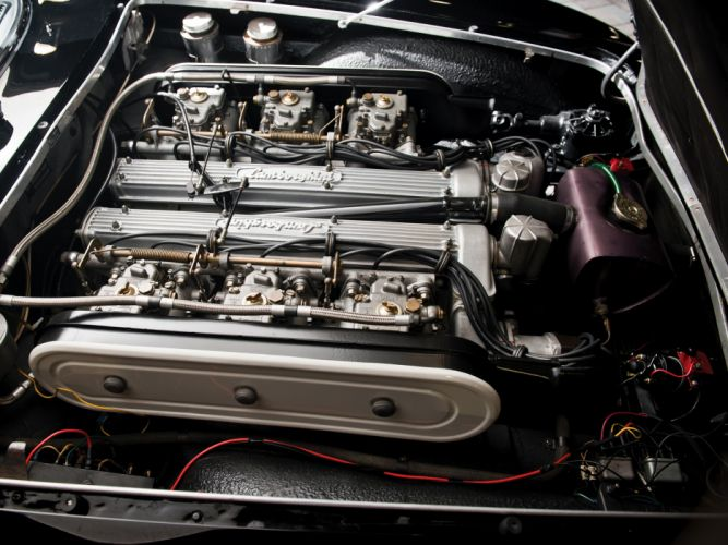 1964 Lamborghini 350 G-T classic supercar supercars engine engines wallpaper