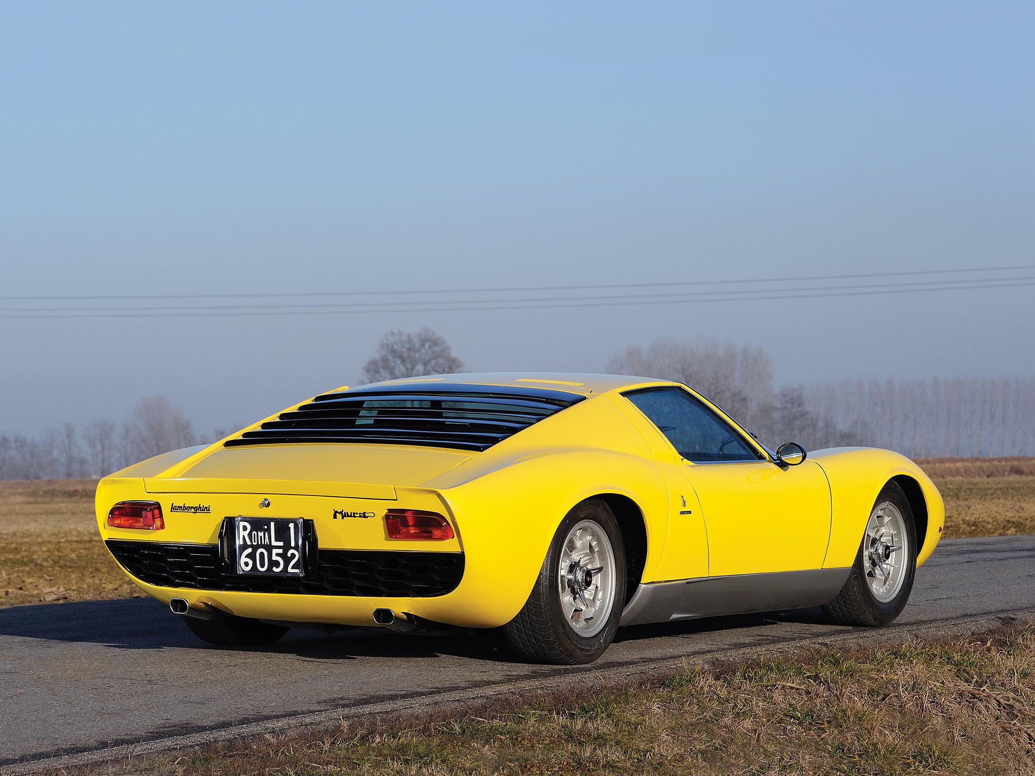 1966 Lamborghini Miura P400 Classic Supercar Supercars F