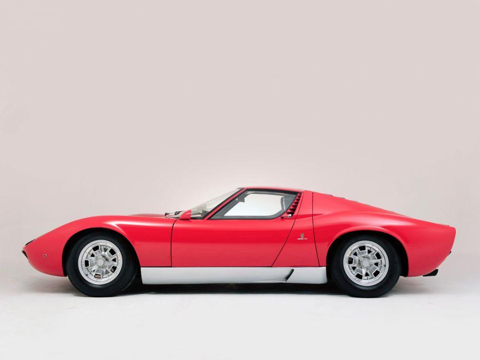 1966 Lamborghini Miura P400 classic supercar supercars      d wallpaper