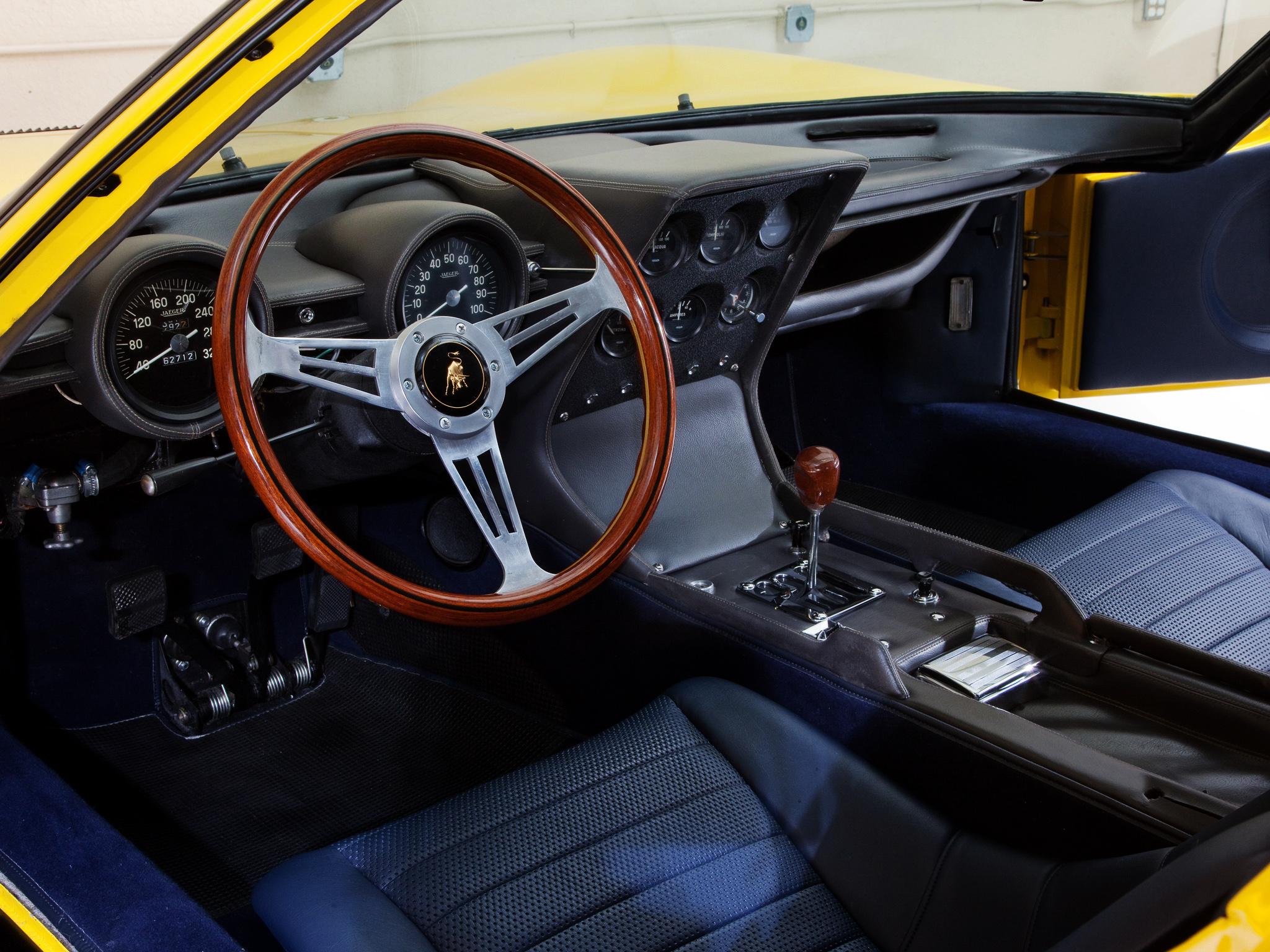 1966 Lamborghini Miura P400 classic supercar supercars g ...