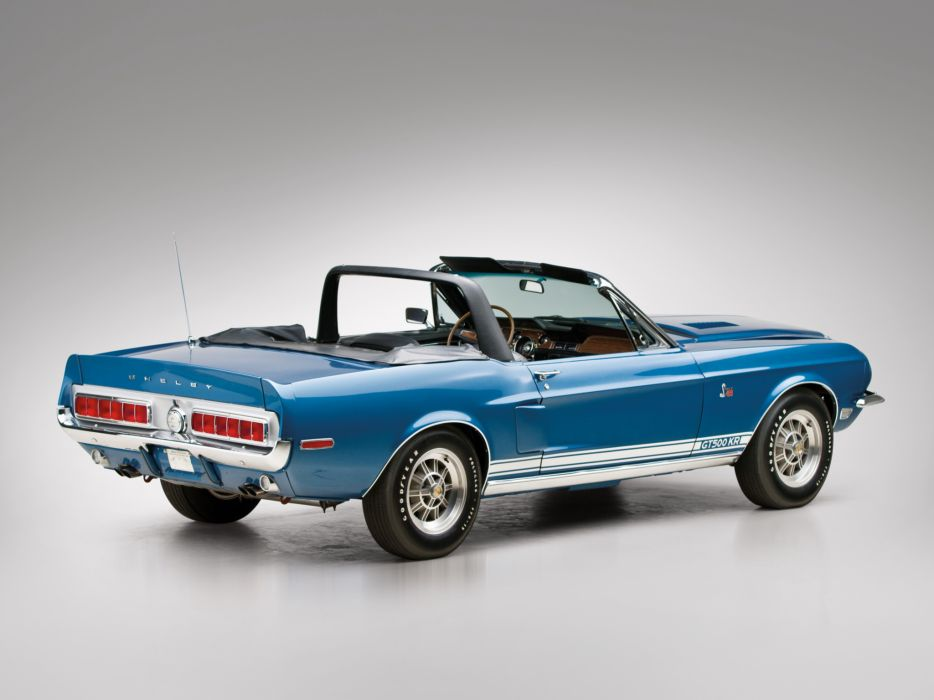 1968 Shelby GT500-KR gt500 convertible ford mustang muscle classic    f wallpaper
