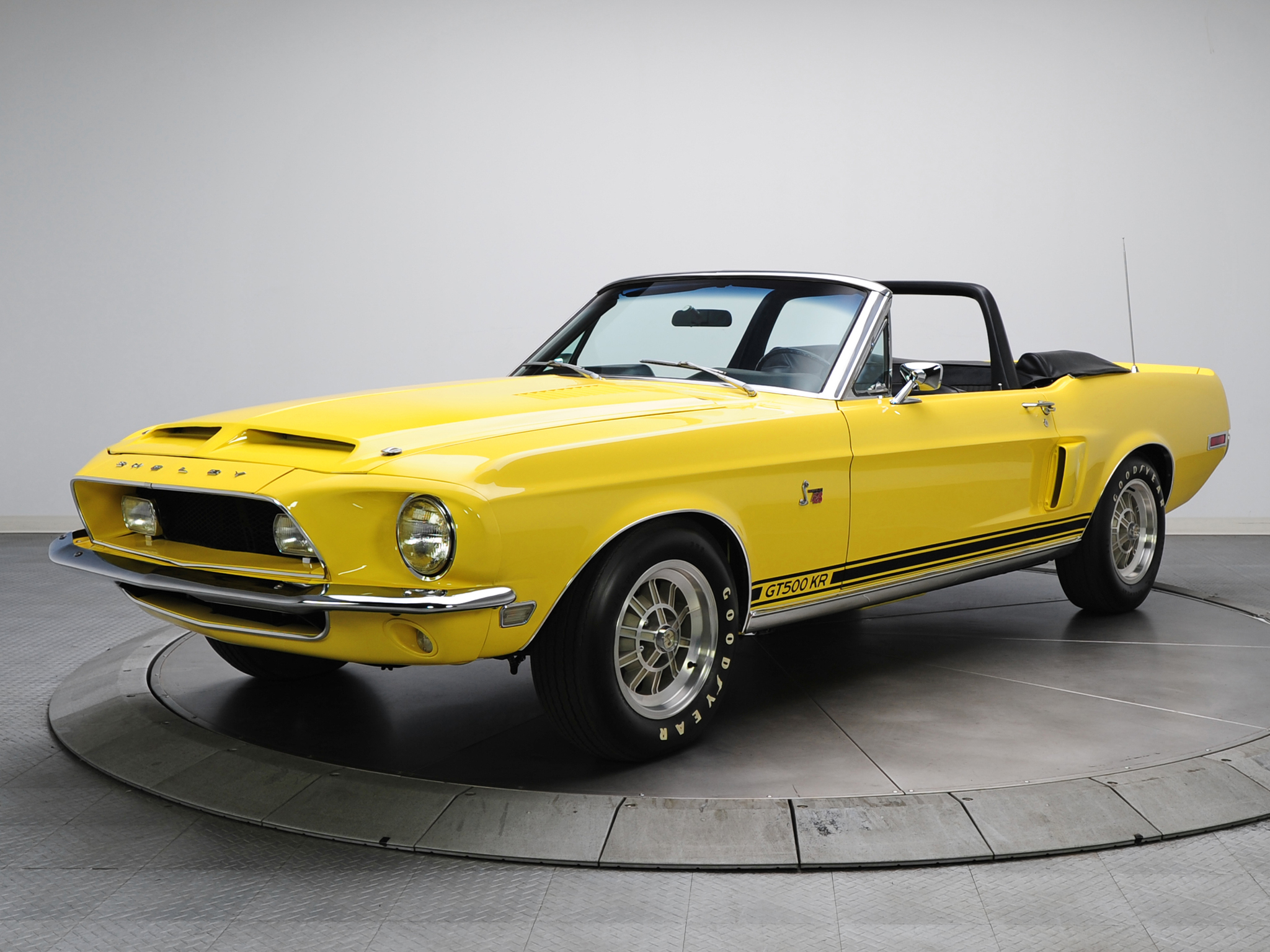 1968 ford mustang shelby gt500kr convertible. Black Bedroom Furniture Sets. Home Design Ideas